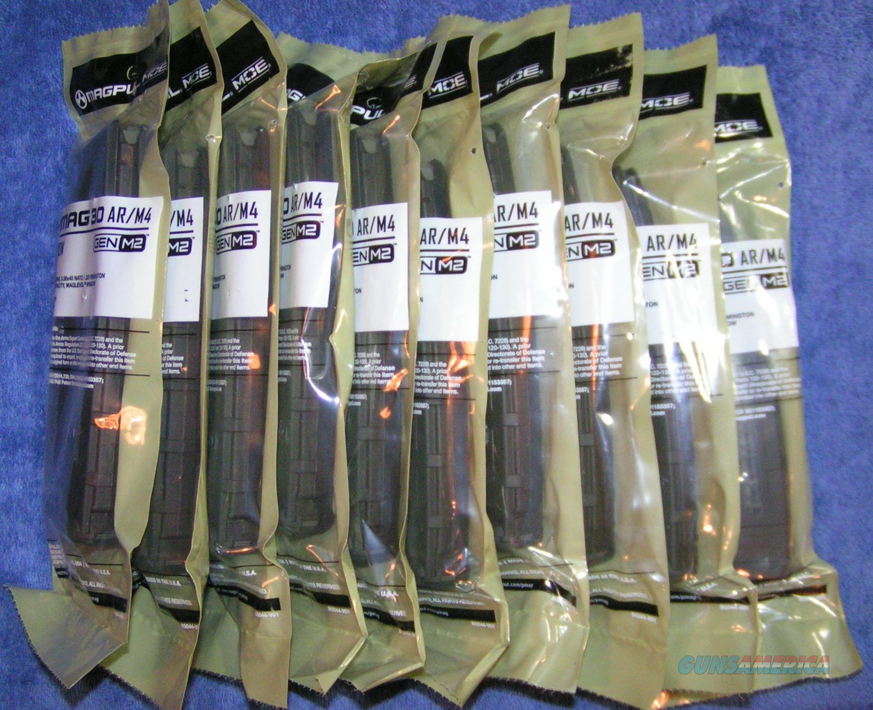 10 Magpul 30rd mags Pmag AR15 G2 Window Free ship   Non-Guns > Magazines & Clips > Rifle Magazines > AR-15 Type