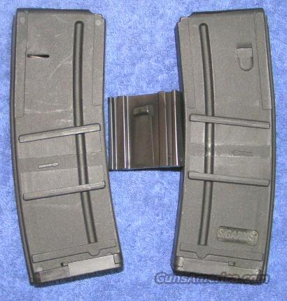 AR15 30 round mags by SIG (2) w coupler new   Non-Guns > Magazines & Clips > Rifle Magazines > AR-15 Type