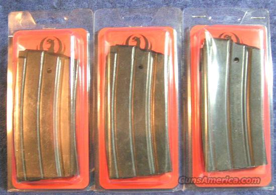 3 Ruger mini 14 mag factory 20 round NEW $29 each  Non-Guns > Magazines & Clips > Rifle Magazines > Mini 14