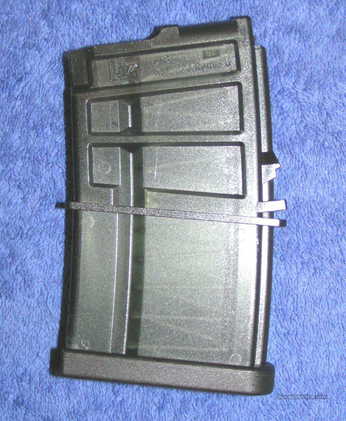 H&K SL8 mag 10 round factory H K HK .223  Non-Guns > Magazines & Clips