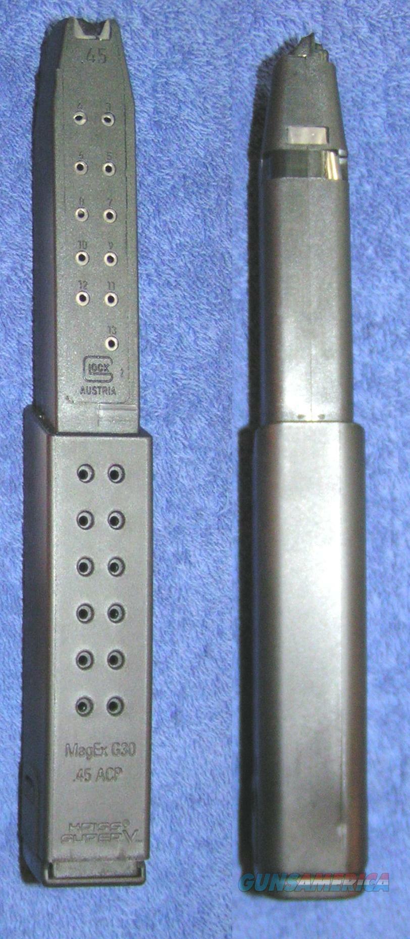 2 Glock 21 Glock 30 mags 45ACP  27rd Kriss Vector  Non-Guns > Magazines & Clips