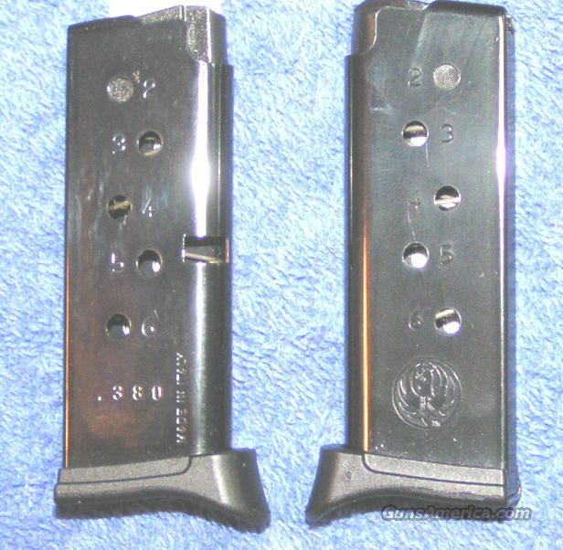 2 Ruger LCP mags with finger rest  .380 NEW $31 each  Non-Guns > Magazines & Clips > Pistol Magazines > Other