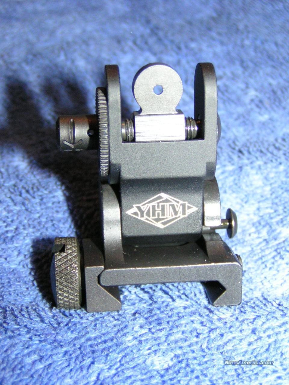 flip up rear sight. NEW. BUIS YHM-9680-A1  Non-Guns > Gun Parts > M16-AR15