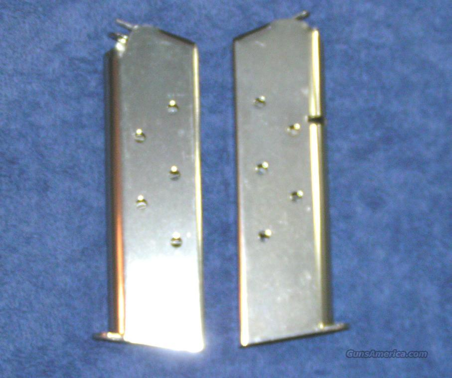 2 Colt 1911 mags. Stainless 7 round Government magazines Govt $22 each  Non-Guns > Magazines & Clips > Pistol Magazines > Other
