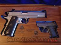 Detonics/Seecamp -RARE-9-11 Limited edition,matching serial # pair,in presentation case,45acp & 32 auto  Guns > Pistols > Detonics Pistols