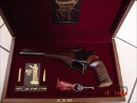 Thompson Contender,Steve Herritt commemorative,30 Herritt,engraved,in Pres.case  Guns > Pistols > Custom Pistols > Other