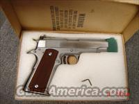 "AMT Skipper !! rare-4 1/4"" barrel,stainless,El Monte Ca,Micro rear sight,Colt magazine,box,made around 1978-34 years old  Guns > Pistols > AMT Pistols > 1911 copies"