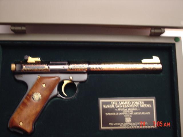 Ruger Mark Ii 22lr 39 Of 250 Engraved Armed Fo For Sale