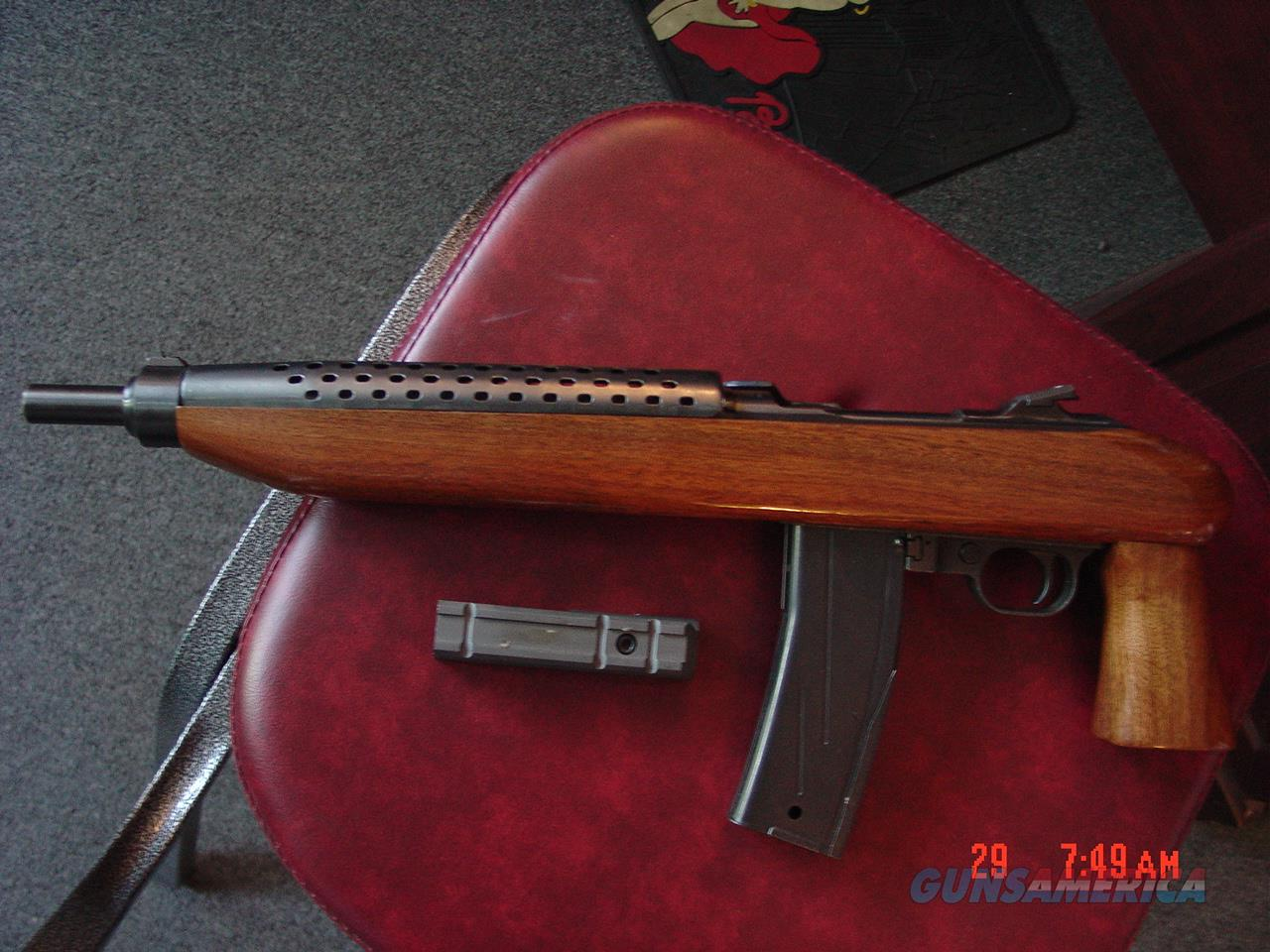"Universal Enforcer 11 1/2"" barrel,30 Carbine, 30 round mag,scope mount,uses any M1 Carbine mags,awesome condition,pistol grip,super nice wood !!  Guns > Pistols > Custom Pistols > Other"