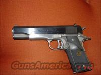Colt Euro Match 1911-#445 of 500 made,2 tone,45acp,box & manual  Guns > Pistols > Colt Automatic Pistols (1911 & Var)