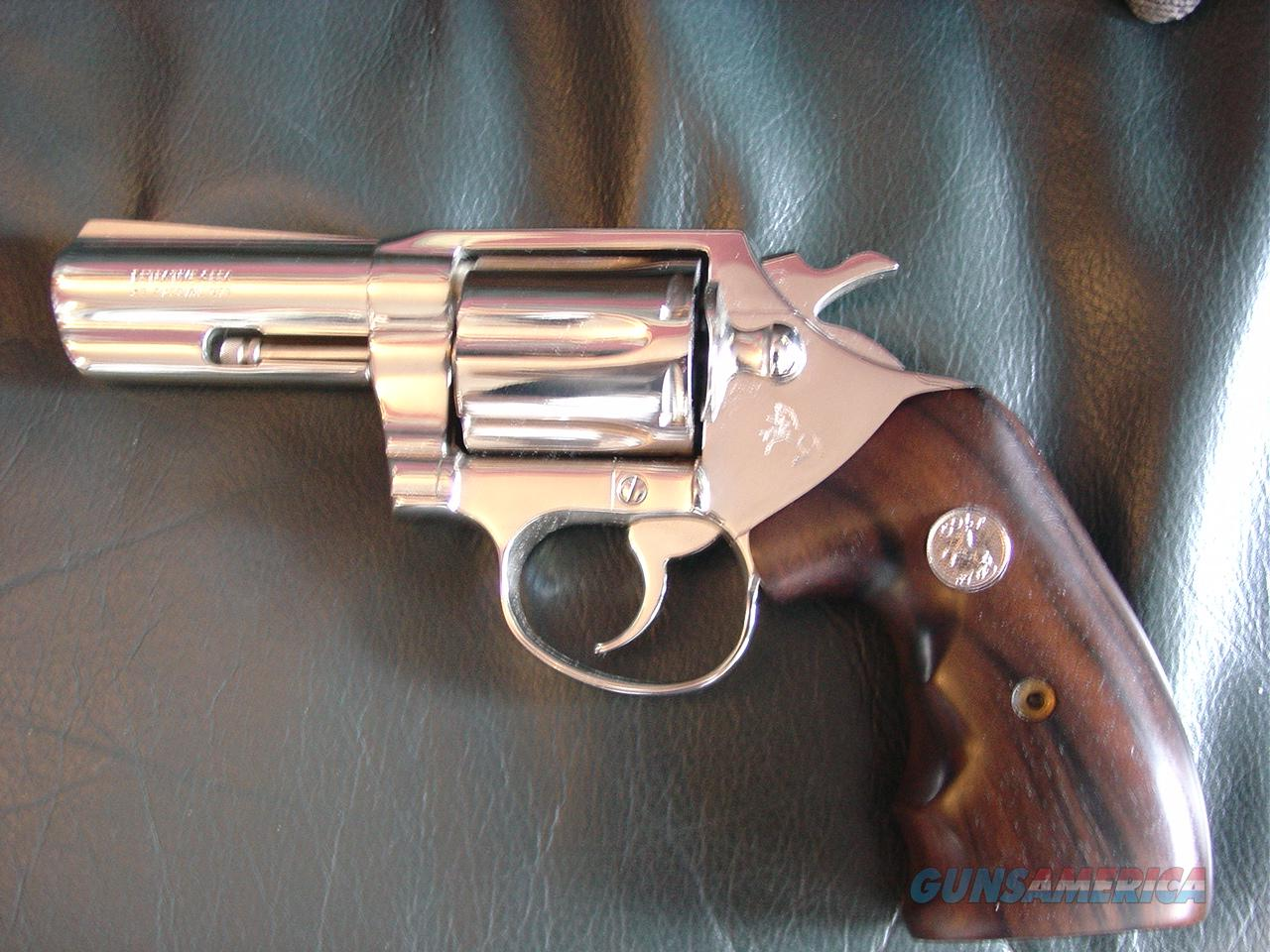 "Colt Detective Special,3rd series,1974,3""barrel,Colt Rosewood grips with finger grooves,38 special,& nicer in person-a showpiece !!  Guns > Pistols > Colt Double Action Revolvers- Modern"