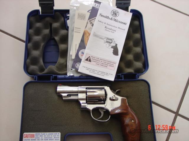 "Smith & Wesson,629,Lew Horton-PORTED 3"" 44 magnum,rosewood grips,manuals,box,ultimate stainless  Guns > Pistols > Smith & Wesson Revolvers > Model 629"