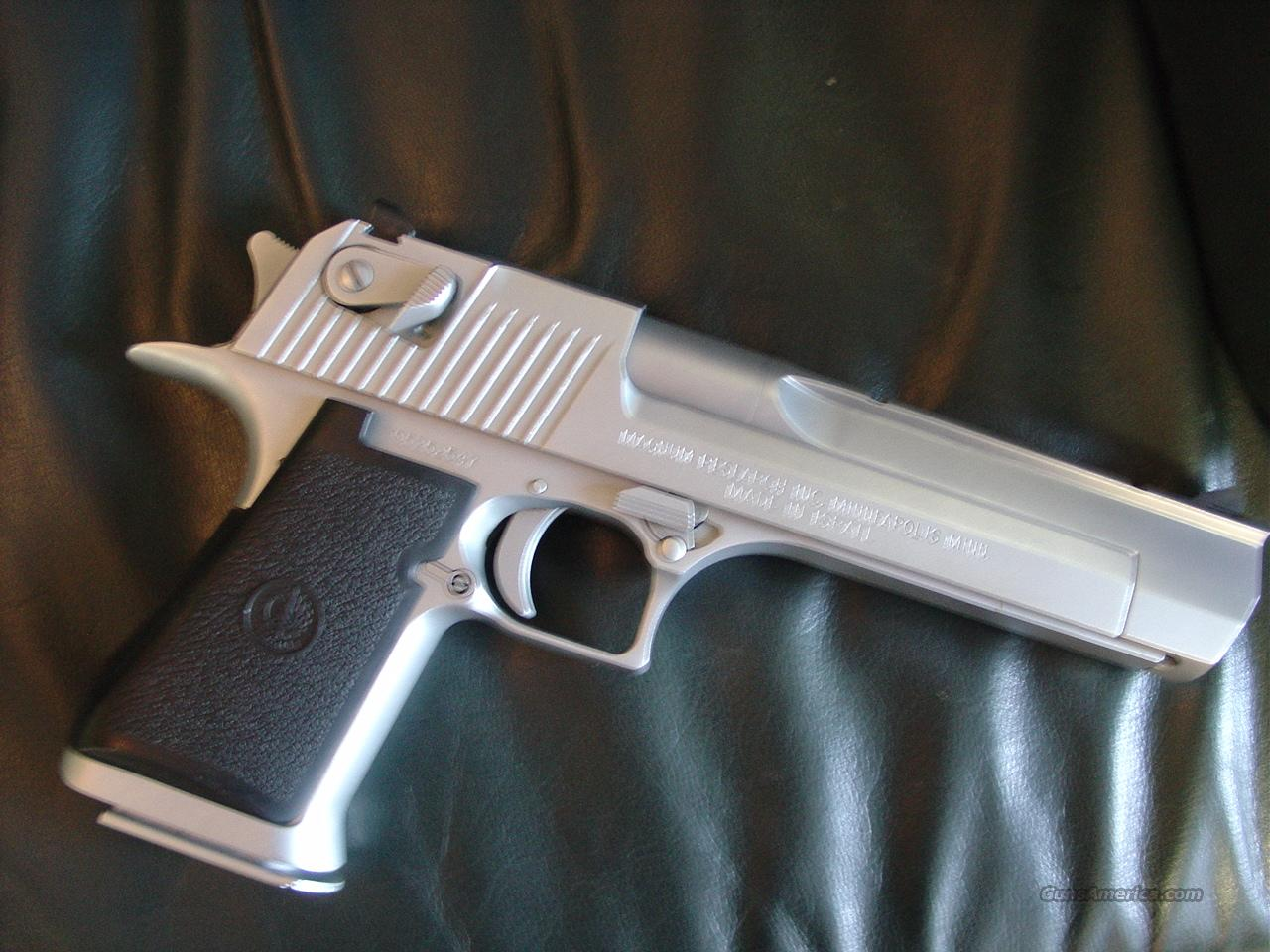 "Magnum Research,IWI Desert Eagle 50 caliber Hand Cannon,6"",Matt stainless finish,made in Israel,no box or papers  Guns > Pistols > Desert Eagle/IMI Pistols > Desert Eagle"
