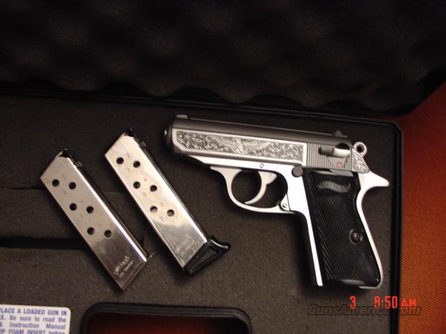 Walther Premier Edition,engraved PPK/S-1 of 400,380acp,in case with all papers  Guns > Pistols > Custom Pistols > Other