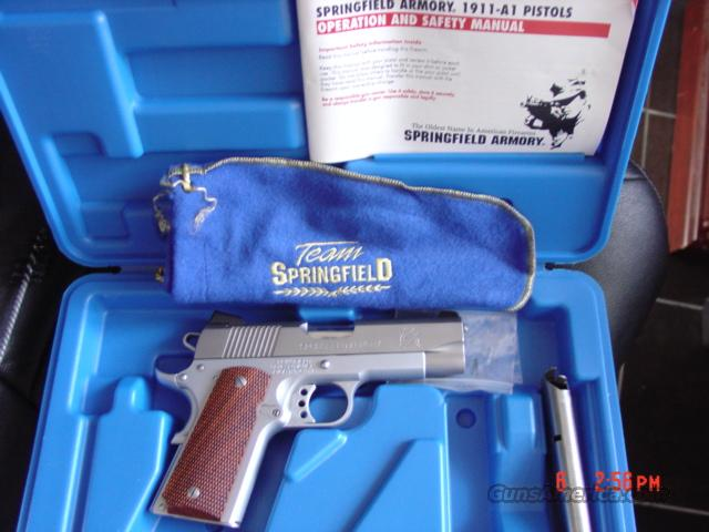 "Springfield Armory 1911 Compact 45,4"" box & all papers  Guns > Pistols > Springfield Armory Pistols > 1911 Type"