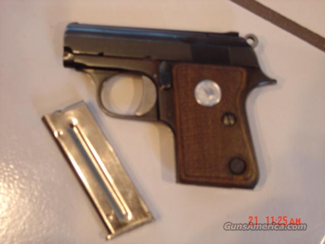 "Colt-22 short-Junior Colt,1964,46 years old,semi auto,2""barrel,tiny !!  Guns > Pistols > Colt Automatic Pistols (22 Cal.)"
