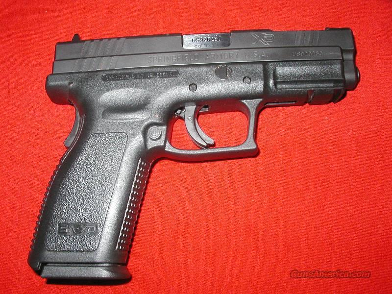 "Springfield XD Service 4"" 9mm V-10 Ported   Guns > Pistols > Springfield Armory Pistols > XD (eXtreme Duty)"