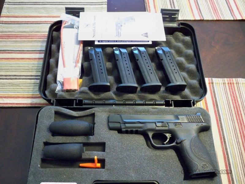 Smith & Wesson M&P 9L + extras!  Guns > Pistols > Smith & Wesson Pistols - Autos > Polymer Frame