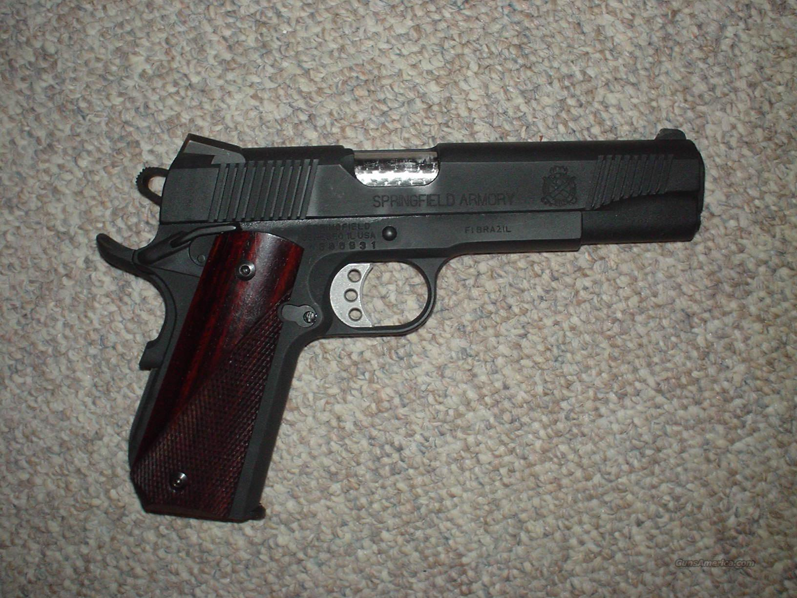 Springfield 1911 Bobtail with Ed Brown parts  Guns > Pistols > Springfield Armory Pistols > 1911 Type