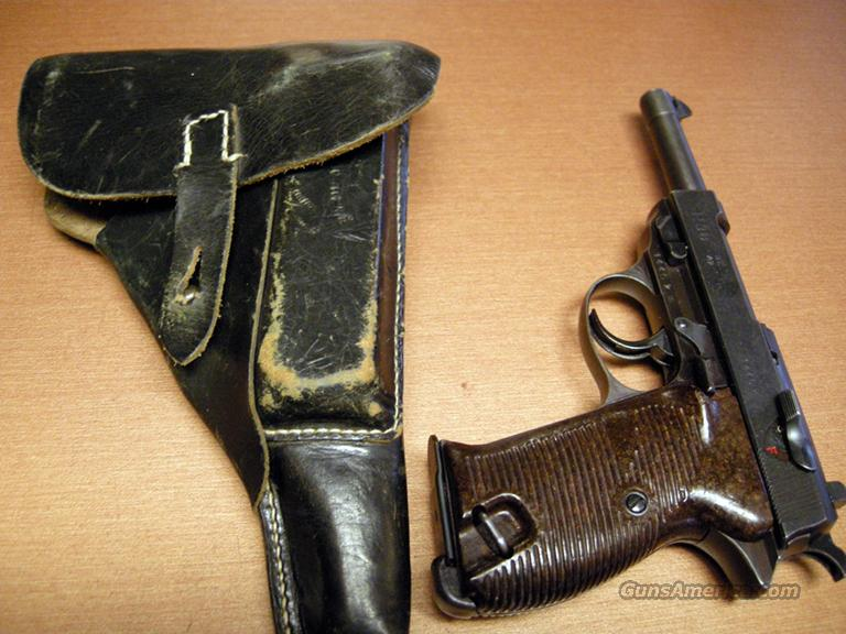 Walther P38 ac 42 with Holster  Guns > Pistols > Walther Pistols > Pre-1945 > P-38