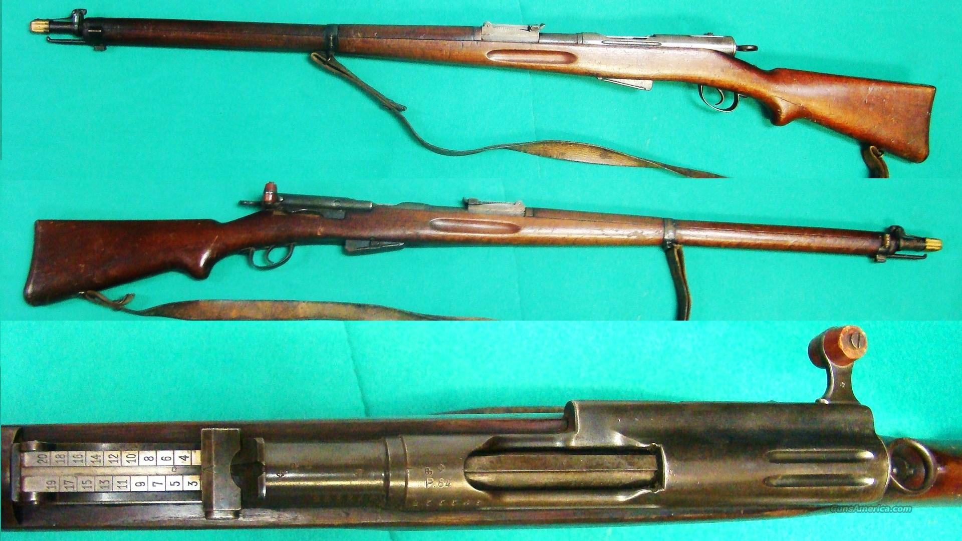 SWISS 96-11  Guns > Rifles > Military Misc. Rifles Non-US > Shmidt Rubin