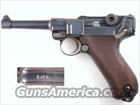 1912 DWM   UNIT MARKED  Guns > Pistols > Luger Pistols