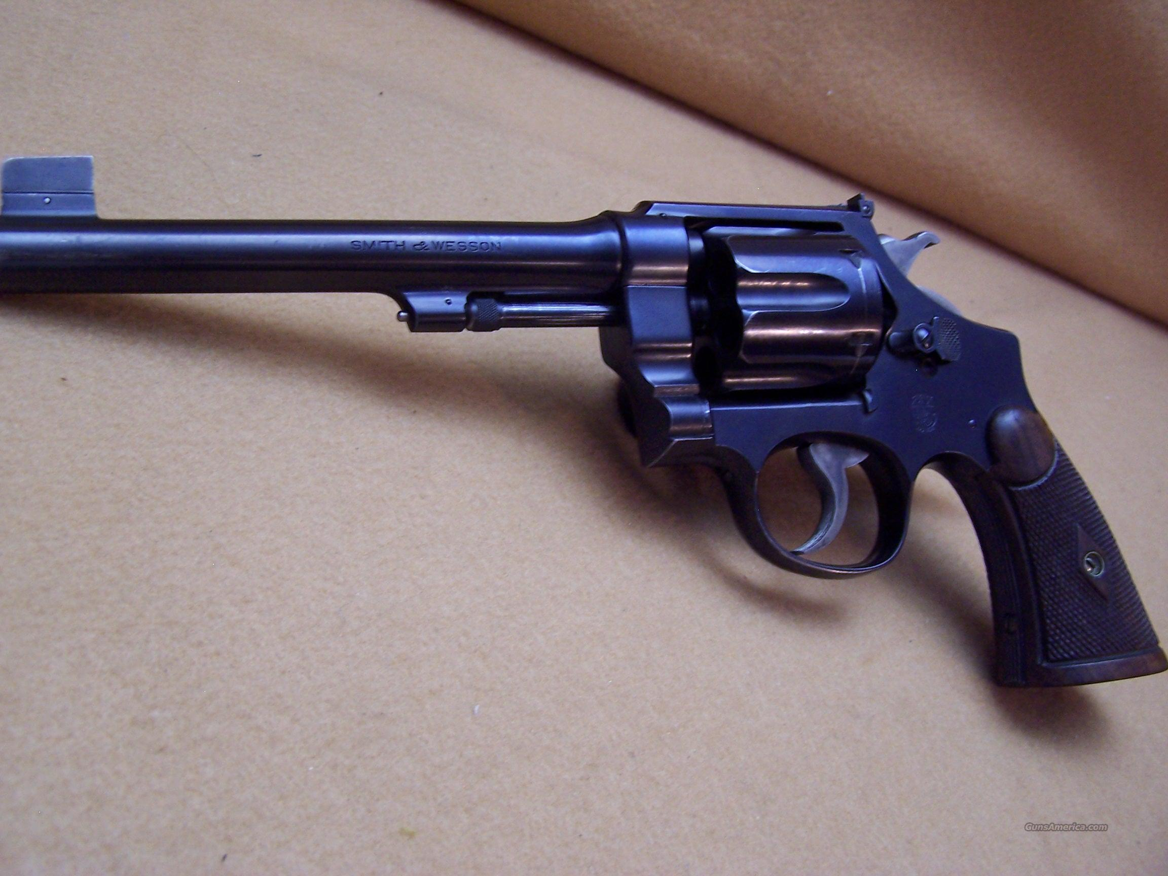 "S&W .44 HAND EJECTOR 2ND MODEL ""TARGET""  Guns > Pistols > Smith & Wesson Revolvers > Full Frame Revolver"