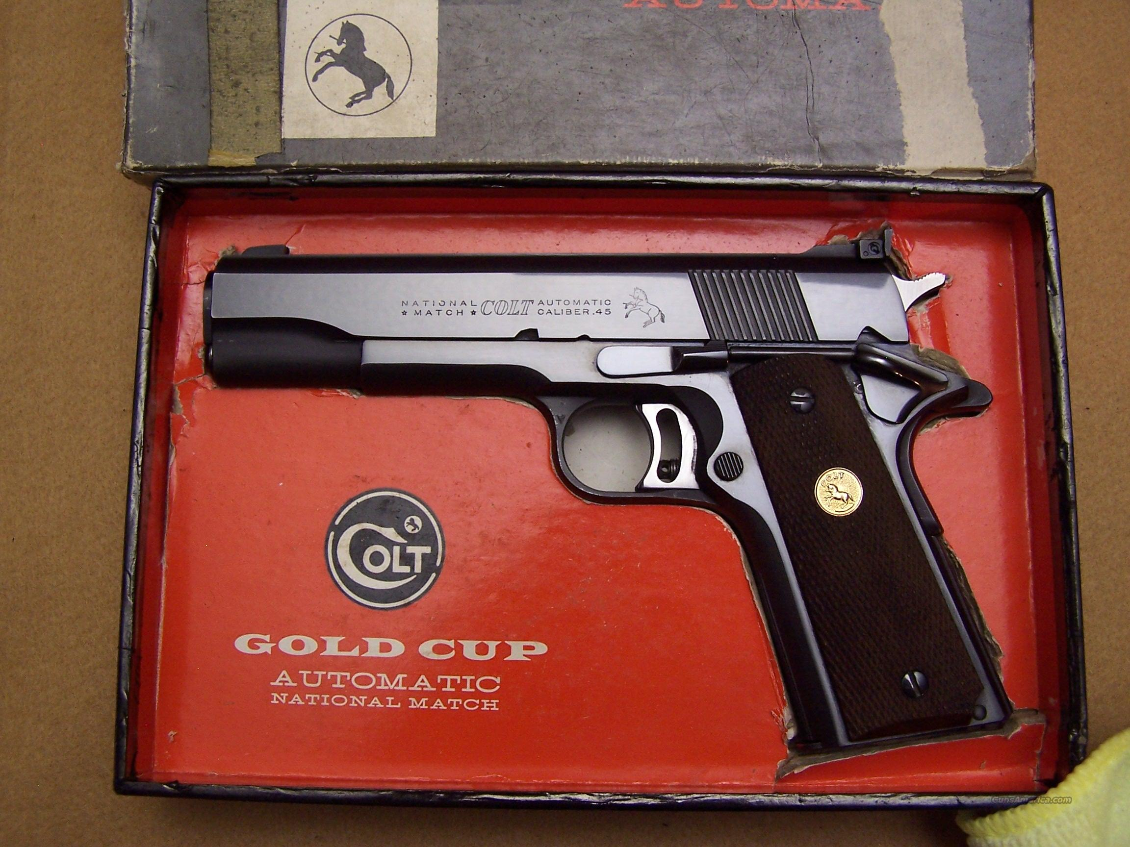 Colt National Match 45  Guns > Pistols > Colt Automatic Pistols (1911 & Var)