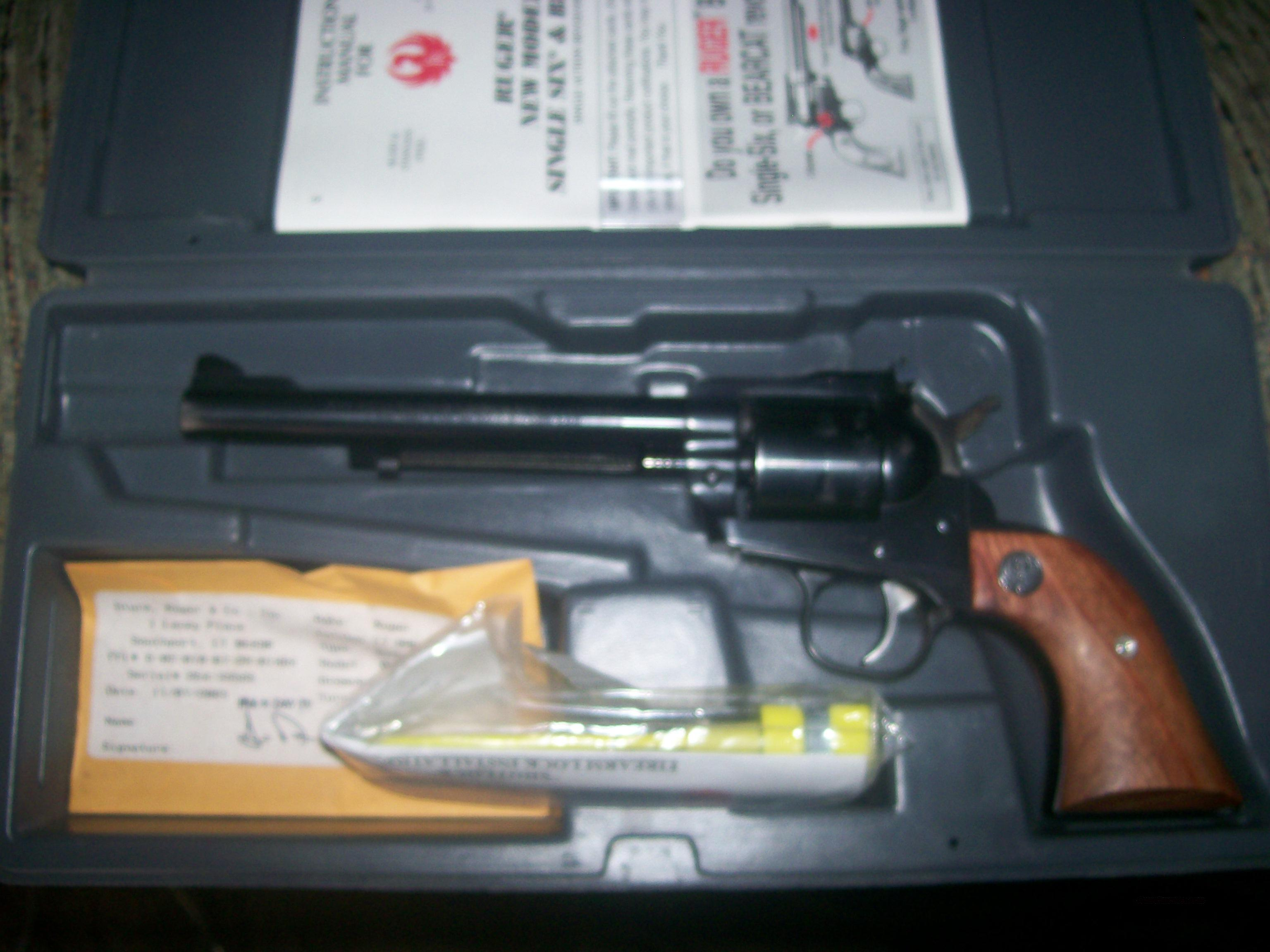 Ruger single six 17 cal.  Guns > Pistols > Ruger Single Action Revolvers > Single Six Type