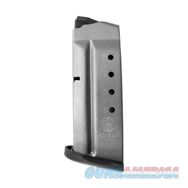 Smith & Wesson M&P Shield .40 Cal 6 Round Magazine  Non-Guns > Magazines & Clips > Pistol Magazines > Smith & Wesson