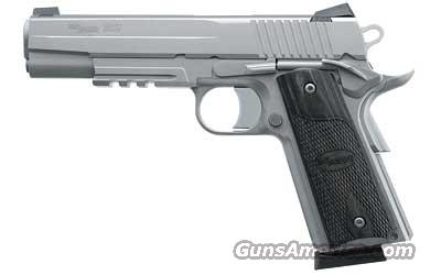 "Sig Sauer 1911 Semi-automatic 1911 Full 45 ACP 5""  Guns > Pistols > Sig - Sauer/Sigarms Pistols > 1911"
