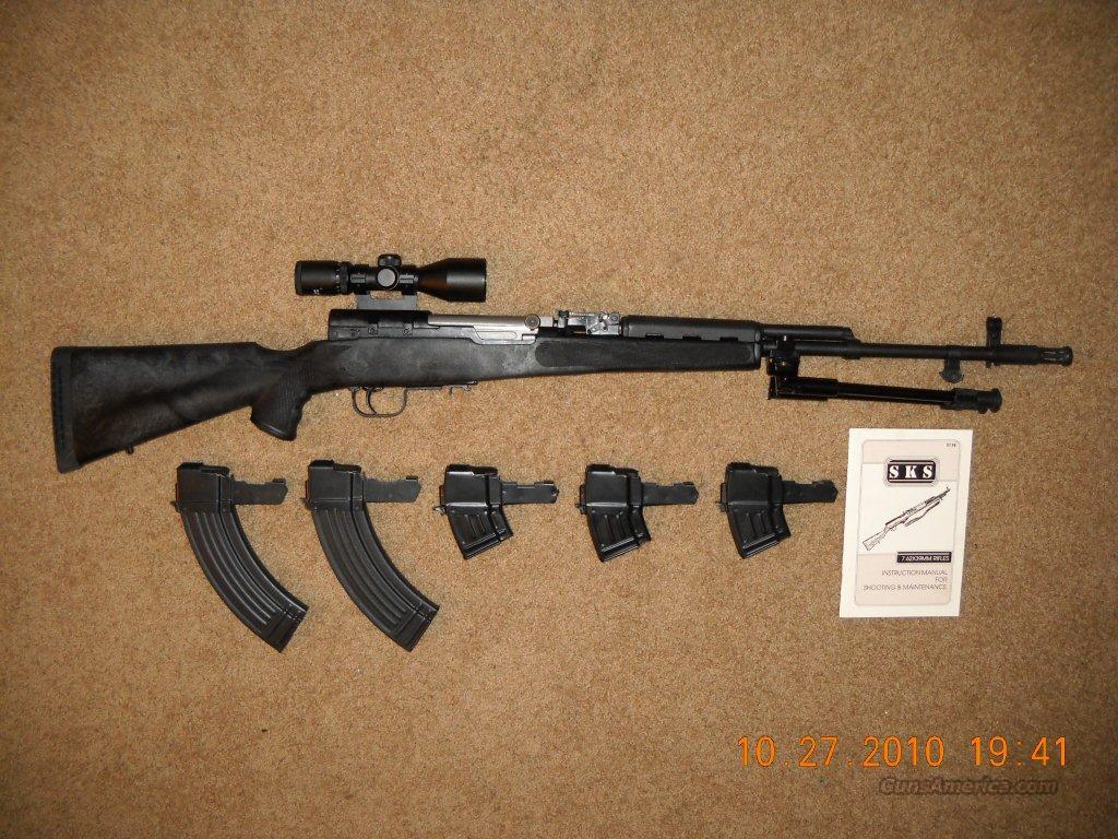 NORINCO CHINESE SKS RIFLE 7.62x39mm Pre-Ban (Used)  Guns > Rifles > SKS Rifles