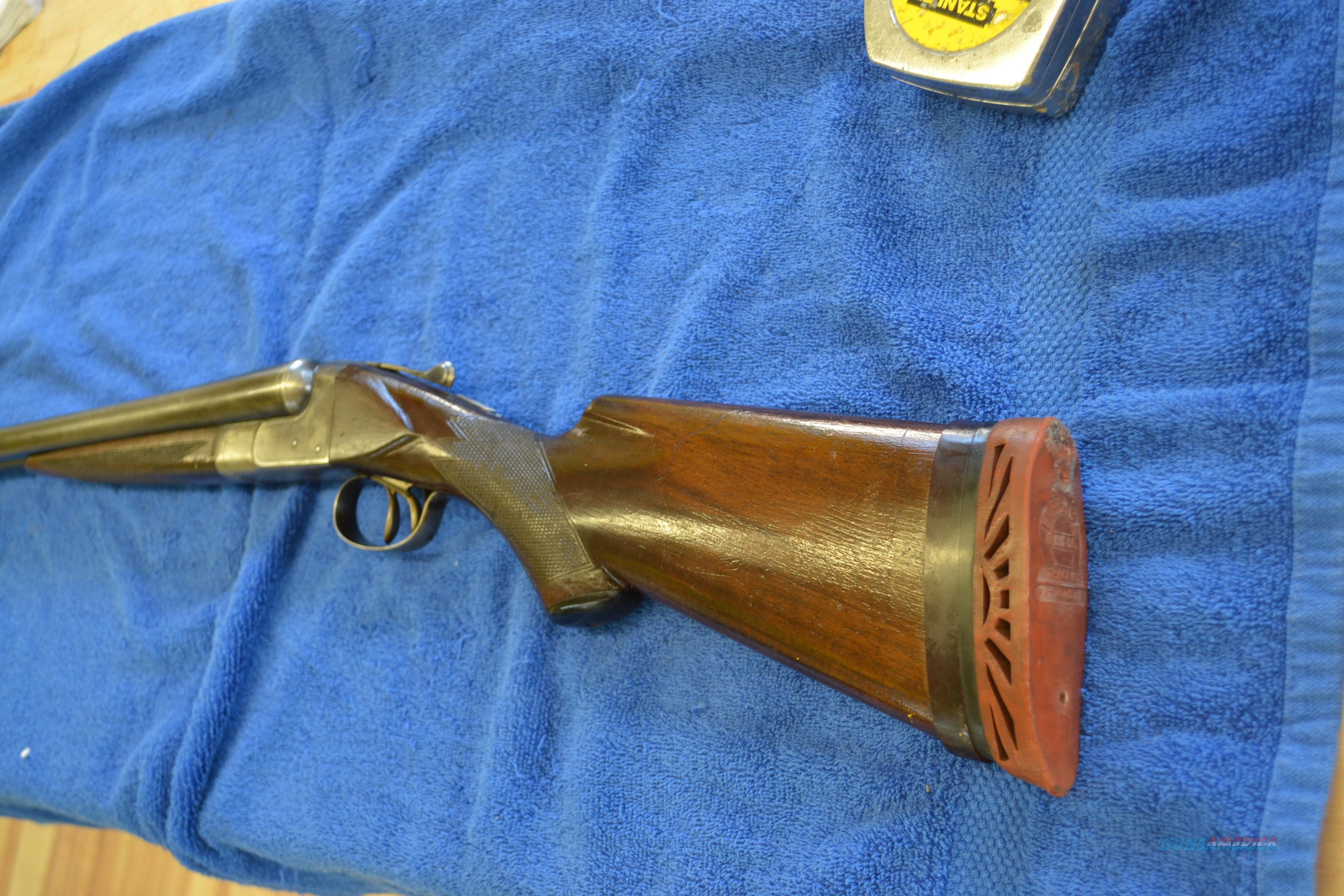 NID Ithaca 12 ga   Guns > Shotguns > Ithaca Shotguns > SxS
