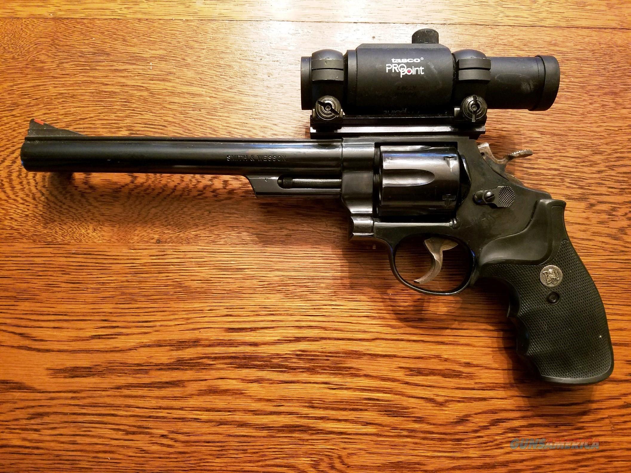 "Smith & Wesson Model 57 .41 Magnum 8 3/8""  Guns > Pistols > Smith & Wesson Revolvers > Full Frame Revolver"