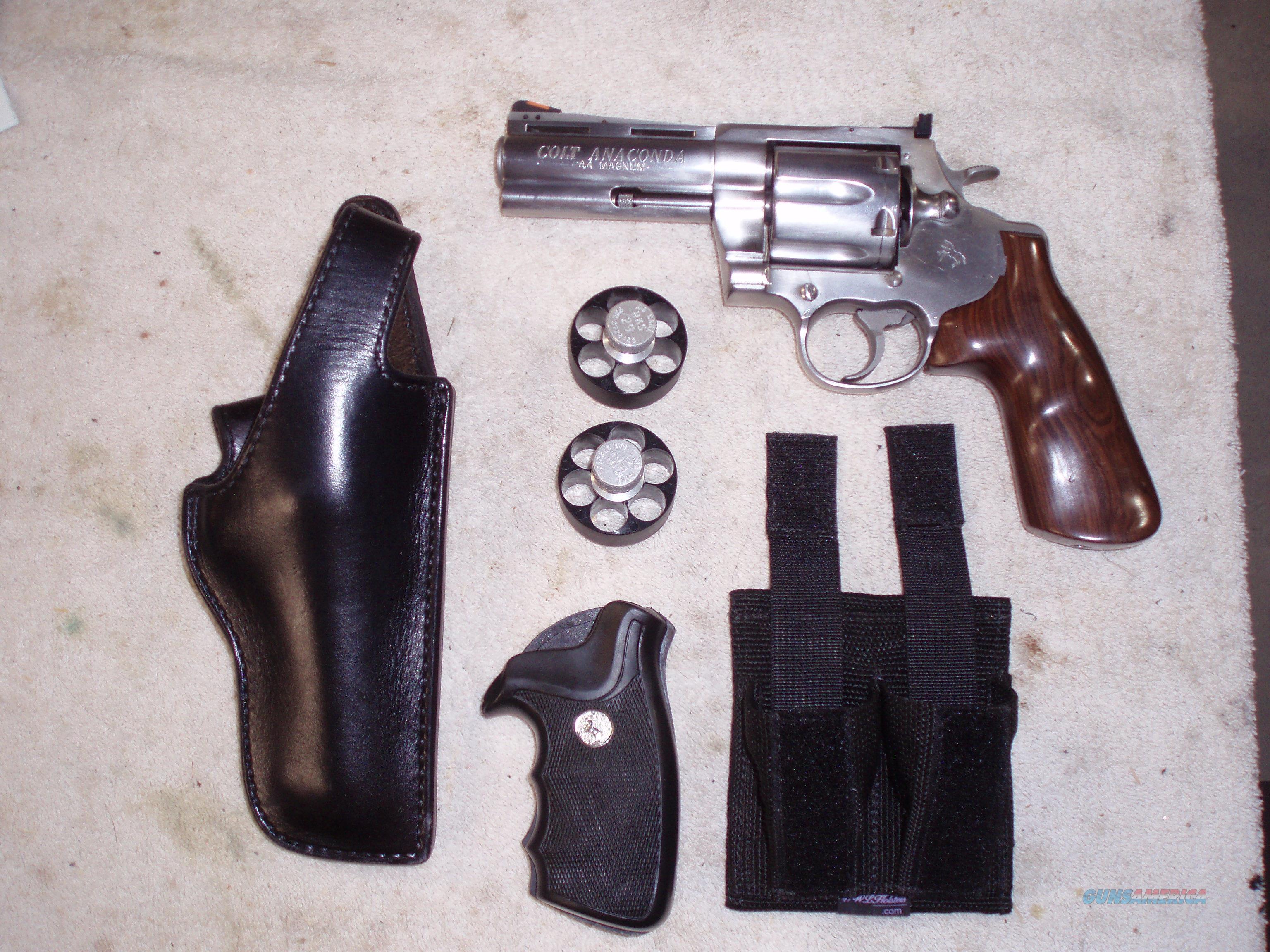 Colt Anaconda 45 Colt Stainless For Sale   HD Wallpaper 4K