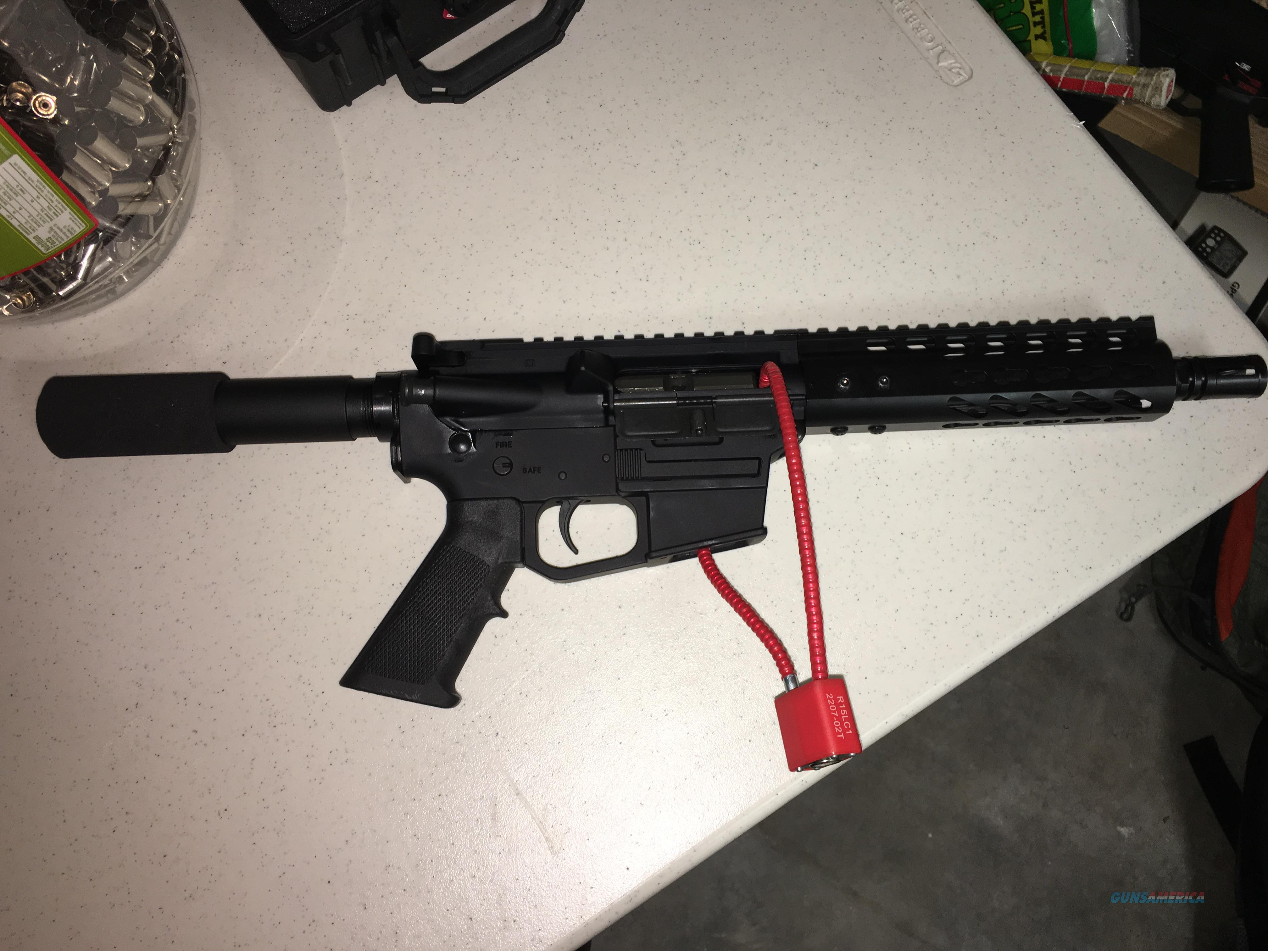 Daytona Tactical - 9MM AR 15 PISTOL KIT 8.5 INCH STAINLESS STEEL BARREL WITH NO LOWER  Guns > Pistols > A Misc Pistols