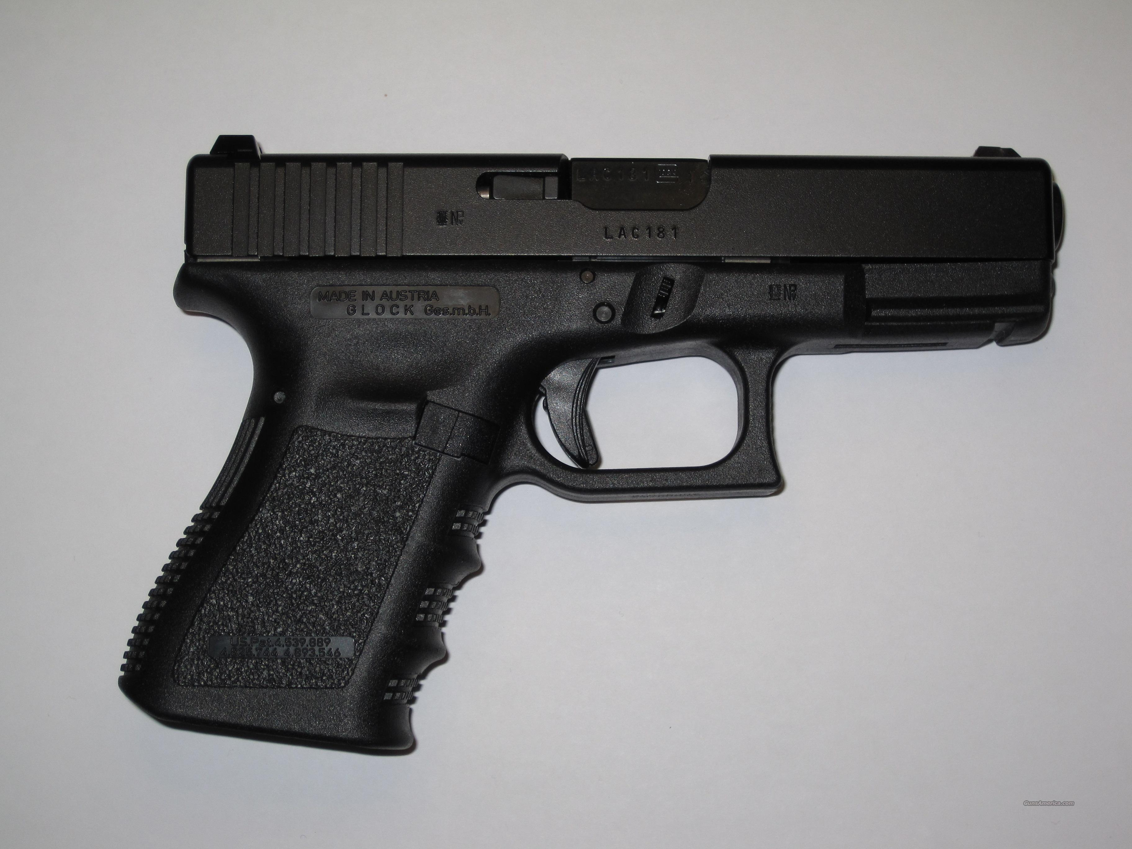 GLOCK 19 European markings  Guns > Pistols > Glock Pistols > 19
