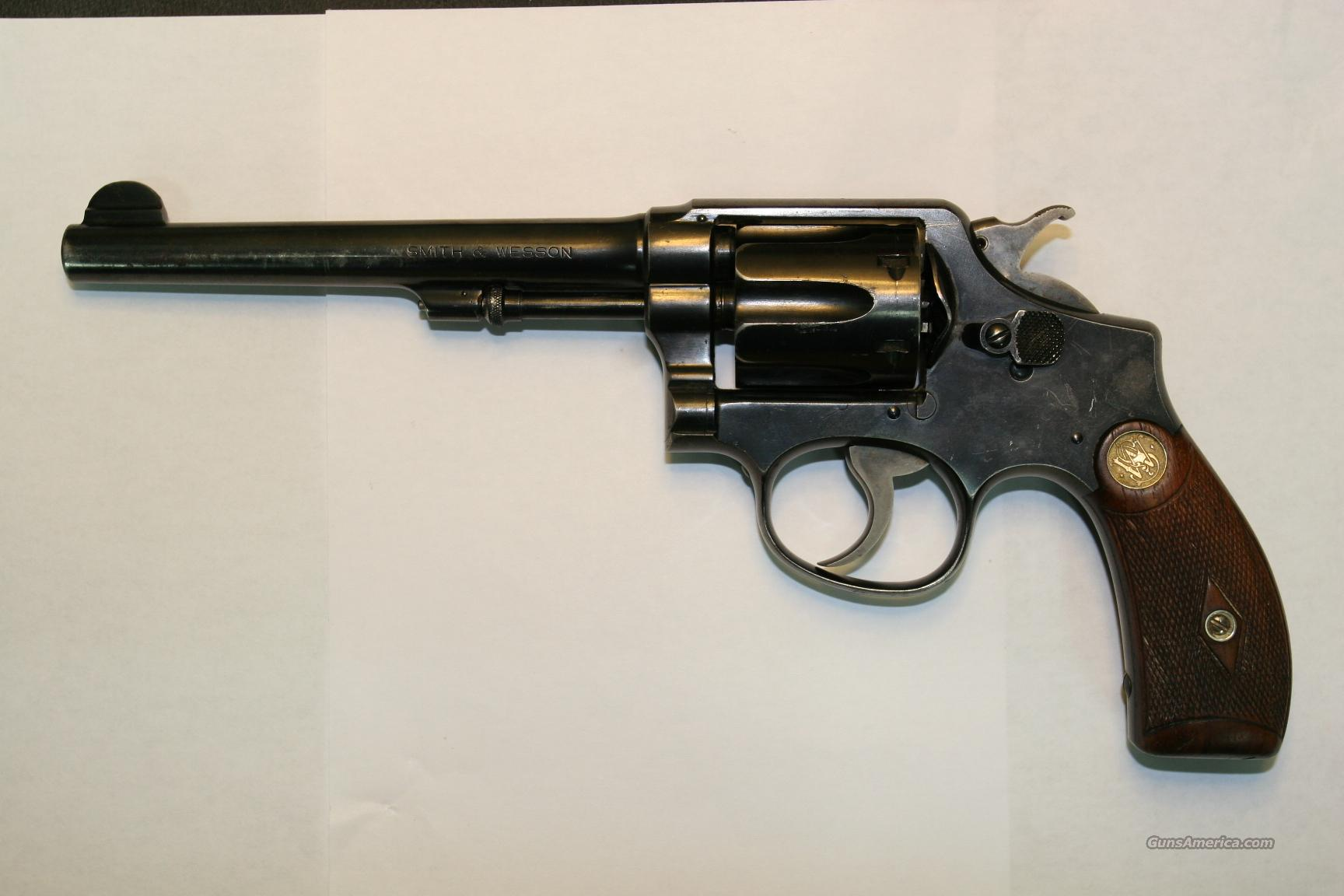 MODEL OF 1905 - 4TH CHANGE  Guns > Pistols > Smith & Wesson Revolvers > Pre-1945