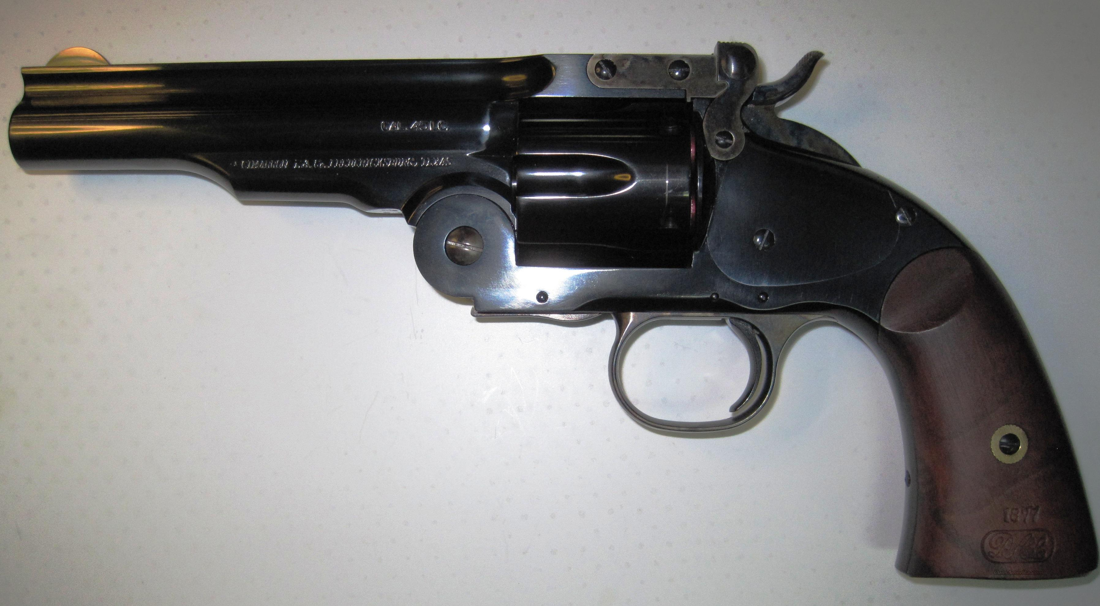 Cimarron Model #3 Schofield .45 Colt 5 in barrel  Guns > Pistols > Cimmaron Pistols