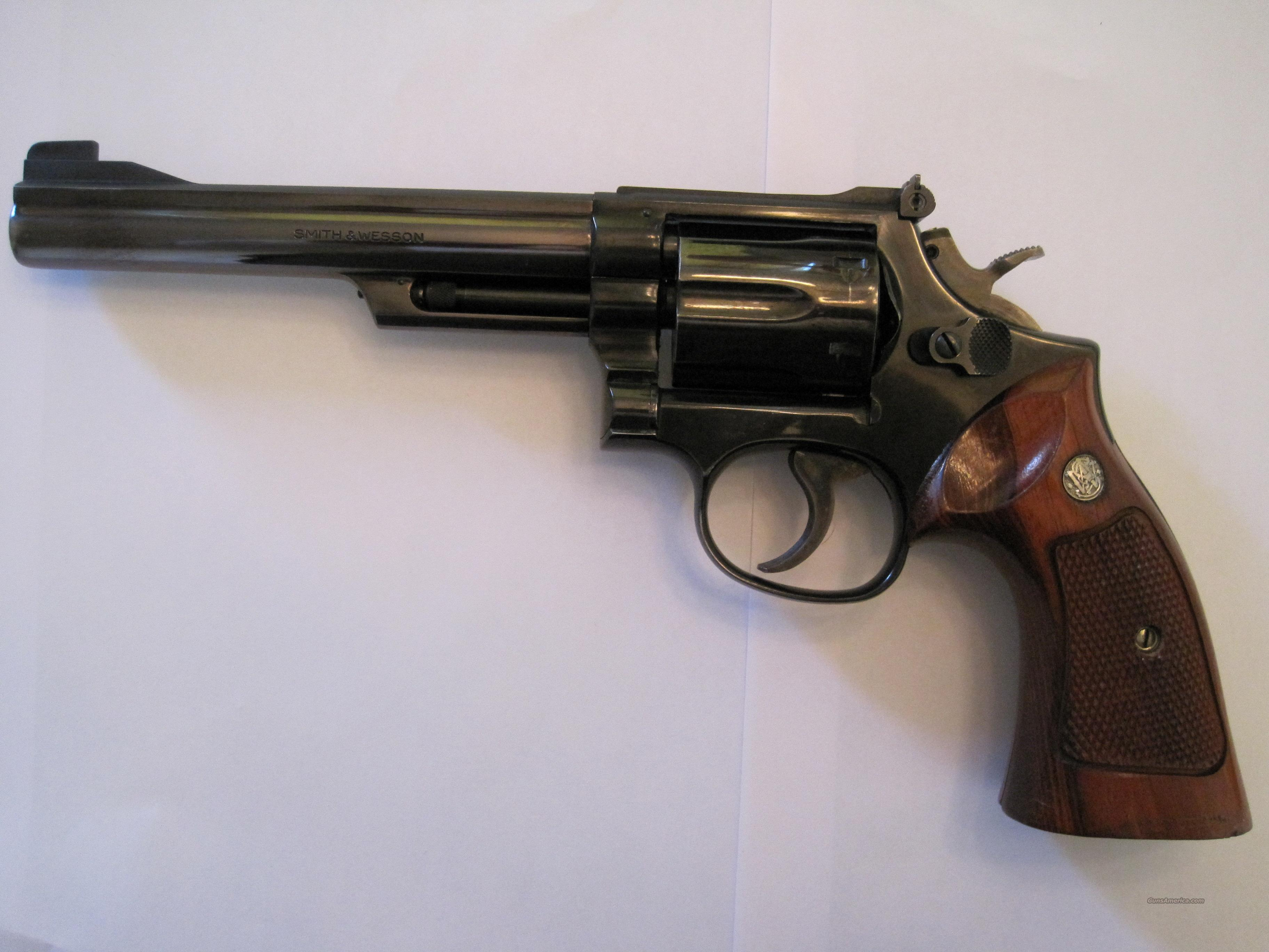 "S&W Model 19-4, 6"" barrel, 357 mag,  Guns > Pistols > Smith & Wesson Revolvers > Full Frame Revolver"