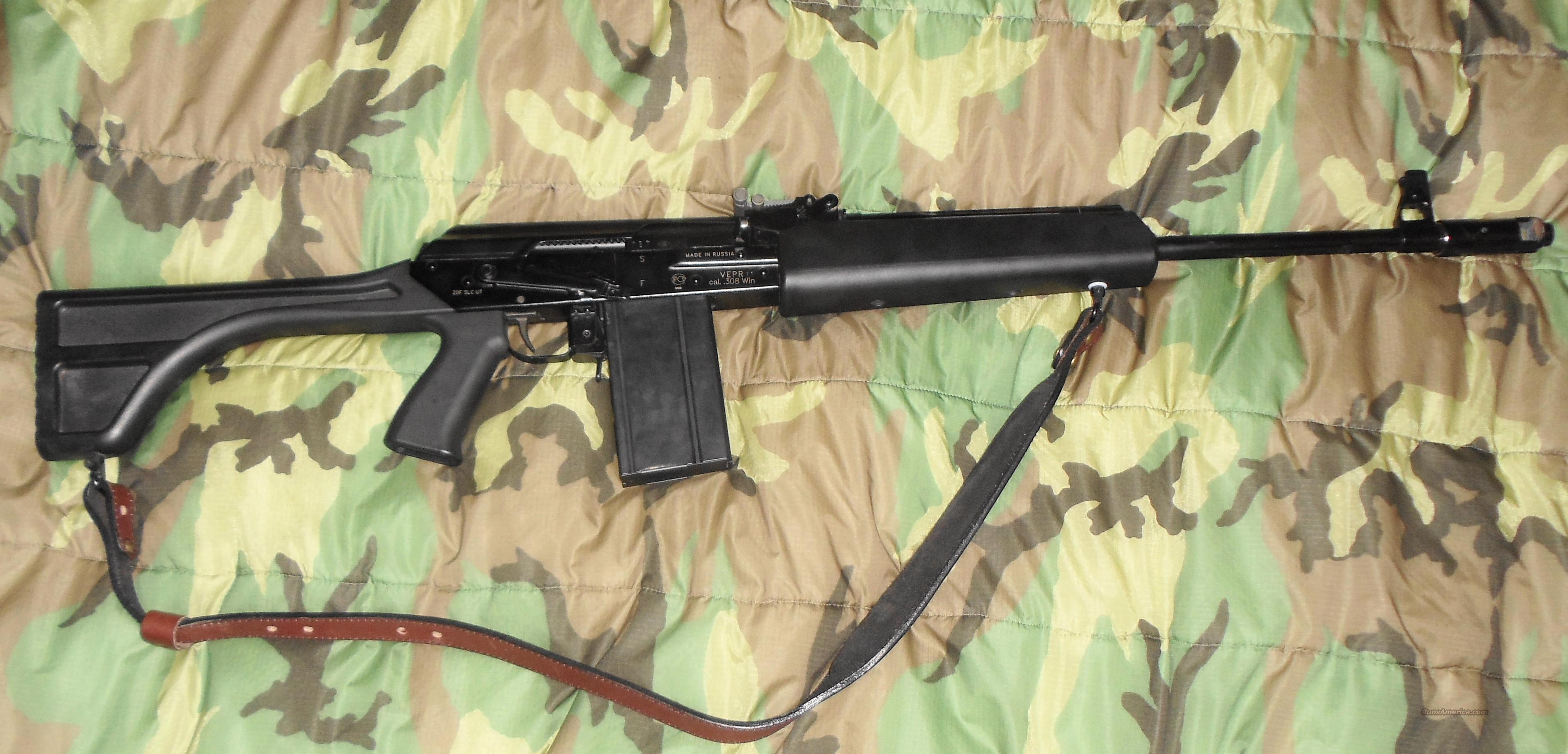 Vepr .308 w/M14 Mag Conversion  Guns > Rifles > AK-47 Rifles (and copies) > Full Stock