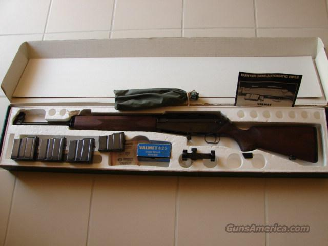 NEW IN THE BOX W/ALL ORIGINAL ACCESSORIES VALMET HUNTER 30-06 ..  Guns > Rifles > Valmet Rifles