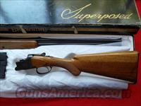 Browning Superposed 20 gauge  Guns > Shotguns > Browning Shotguns > Over Unders > Belgian Manufacture
