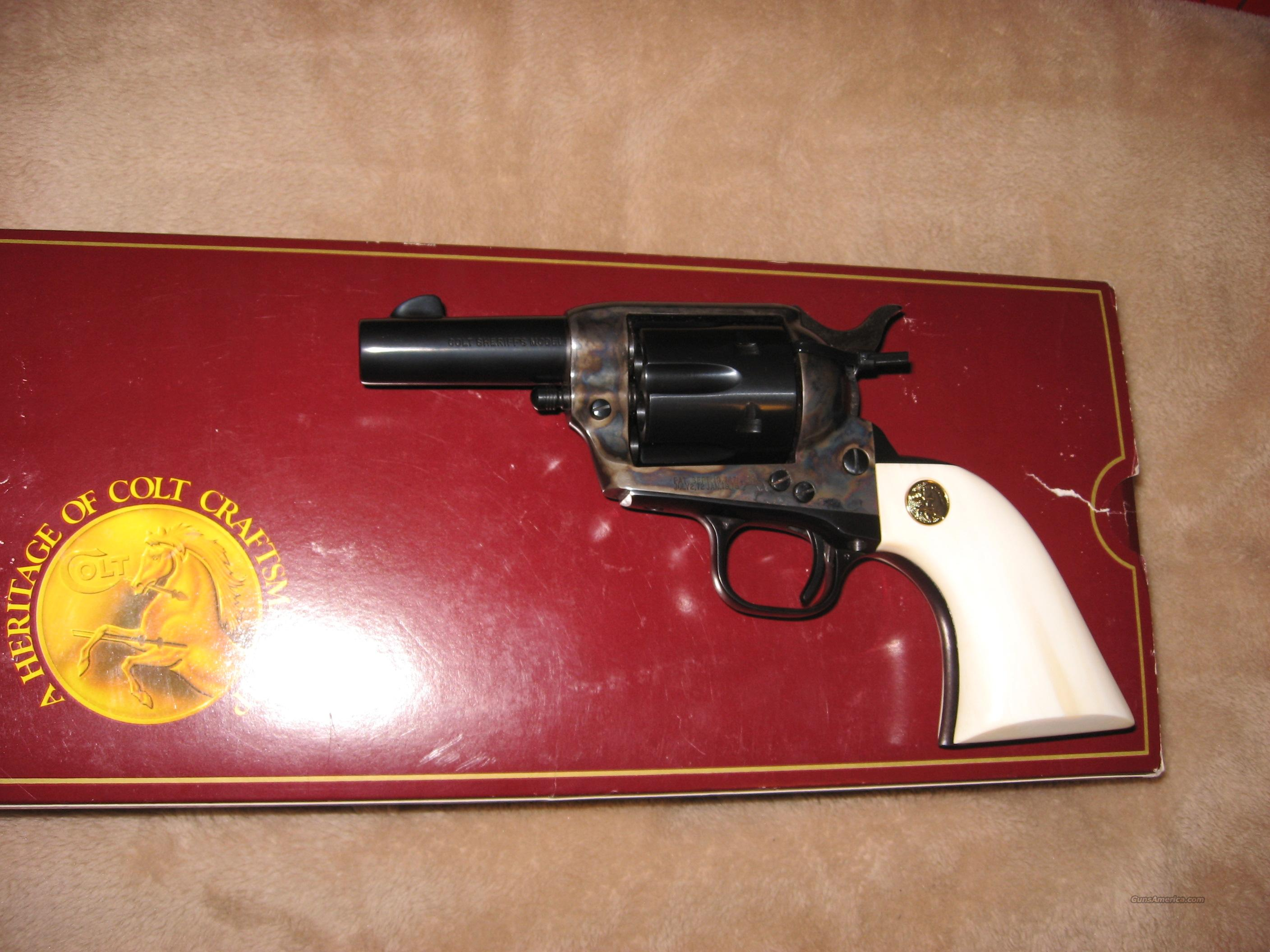 COLT SHERIFF'S MODEL  Guns > Pistols > Colt Single Action Revolvers - 3rd Gen.