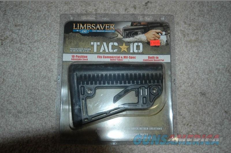 Limbsaver Tac 10 Position Stock System for AR-15   Non-Guns > Gun Parts > Stocks > Polymer