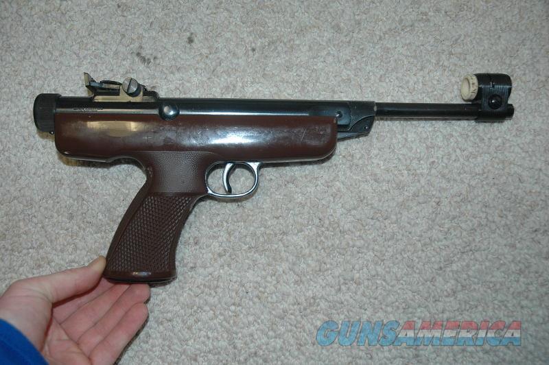 Winchester Model 363 Air Pistol .177 Caliber  Non-Guns > Air Rifles - Pistols > Single Pump