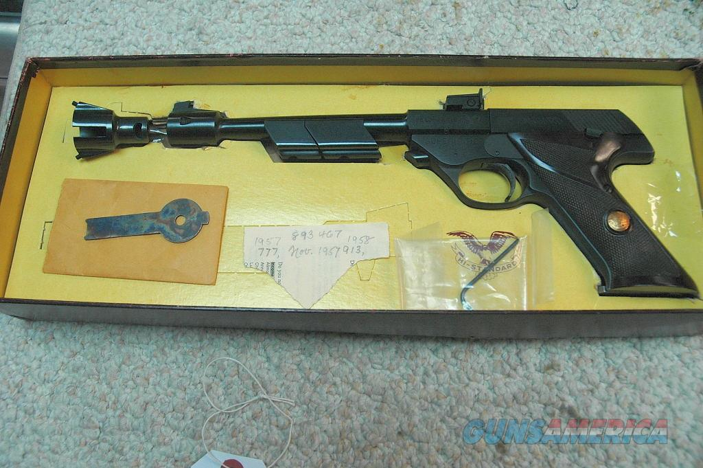 Hi Standard Supermatic Citation Model 102 (Mfg 1957)  Guns > Pistols > High Standard Pistols