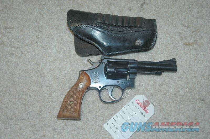 S&W K38 Mfg 1952 (Pre Model 15)  Guns > Pistols > Smith & Wesson Revolvers > Med. Frame ( K/L )