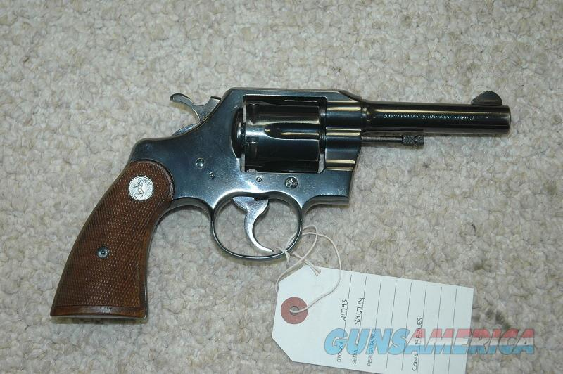 Colt Official Police Mfg 1964 (38 Spl)  Guns > Pistols > Colt Double Action Revolvers- Modern