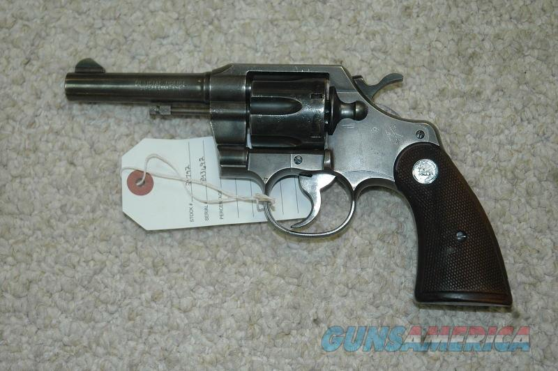 Colt Official Police Mfg 1956 (38 Spl)  Guns > Pistols > Colt Double Action Revolvers- Modern